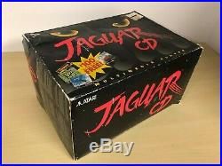 Atari Jaguar CD System Console In Box Original Boxed Vintage Rare