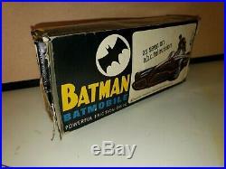 BATMAN 1966 BATMOBILE RARE ADAM WEST WithORIGINAL BOX! VINTAGE 60S