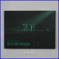 BTS Official 3rd Muster DVD Army. Zip Full Box Jimin Photocard Rare 3-7 days
