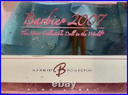 Barbie 2007 Robert Best Chiffon Gown African American Pink Label RARE New In Box