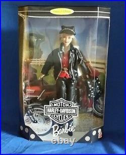 Barbie Harley Davidson`97, 1st in ToysRUs Series #17692, Rare New in Box NRFB