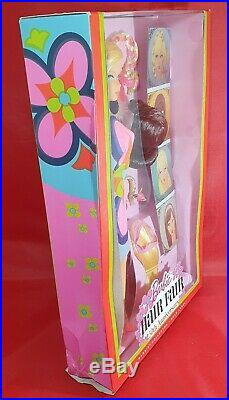 Barbie Rare Hair Flair Wig 50th Anniversary Collector Gold Label Edition Doll