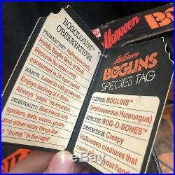 Boglins Bog-O-Bones Vintage Mattel 1988 Rare Original Box Rare Halloween Large