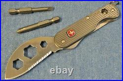 C. 2011 RARE Wenger Titanium Series 1 Swiss Army Knife New in Box NOS 16997
