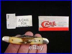 CASE XX USA 5 DOT1985, 52087 SCISSOR'S KNIFE GENUINE STAG RARE MINT COND With BOX