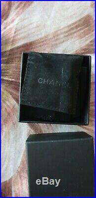 CHANEL EARINGS Original Box Rarely Worn