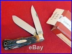 Camillus USA Made NOS RARE 716S double lockback mint in box knife