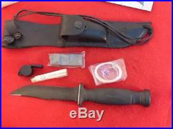 Case XX USA RARE mint in box Thermometer in handle #419 Survival Outlander knife