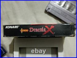 Castlevania Dracula X For Super Nintendo Snes With Original Box Rare Authentic