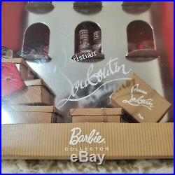 Christian Louboutin Barbie Shoe Collection Rare New See Box Condition