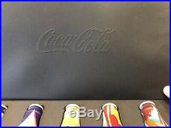 Coca Cola M5 Bottles Limited Edition Boxed Set Collectable Aluminium Very Rare
