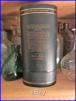 Crown Royal Cask No. 16 750 ml Factory Sealed Box-Bag-Rare-Discontinued