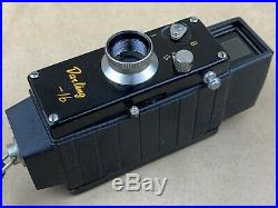 Darling 16 Sub-miniature Shincho Seiki Spy camera with Original Box Rare