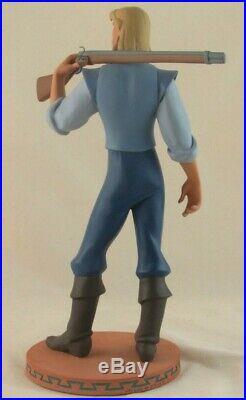 Disney Gallery John Smith Maquette from Pocahontas in Original Box with COA RARE