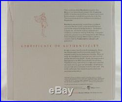 Disney Gallery Pocahontas Maquette in Original Box with COA RARE