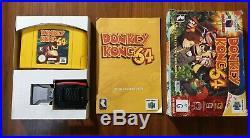 Donkey Kong 64 WITH EXPANSION VGC Original With Box & Manuals PAL Nintendo 64 N64