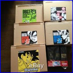 Dragon Ball DVD BOX Full Volume Original + Z1 & 2 + GT + The Movie Version Rare