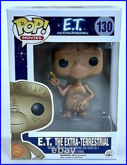 ET The Extra Terrestrial Funko Pop Vinyl & Protector Vaulted Rare 130 Figure