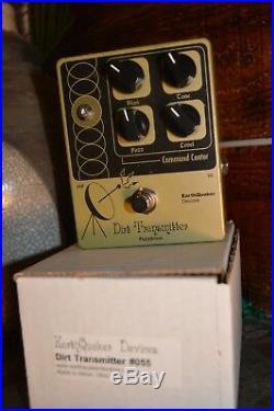 EarthQuaker Devices Dirt Transmitter #055 Original big box version RARE