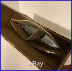Edward Aagaard. Rare MINT Vintage Bronze Viking Dragon ship in ORIGINAL BOX