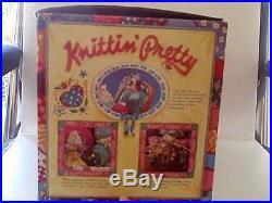 Enesco Musical Knitting Pretty RARE Original Box 1990 583480