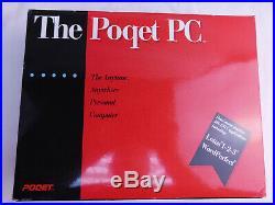 Extremely RARE NEWithSEALED Poqet PC Vintage Pocket Computer ORIGINAL BOX J01038
