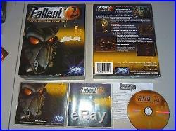 FALLOUT 2 PC Original UK BIG BOX edition Hellishly rare