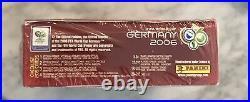 Factory Sealed 2006 Panini World Cup Soccer Box Messi Ronaldo RC Rookie Yr RARE