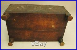 Fine & Rare 18th C. Indian Hand-Carved Dowry Chest Box c. 1780 ancient antique