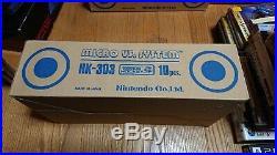 Game & Watch Donkey Kong Hockey 10 pcs. BRAND NEW with STOCK BOX ORIGINAL RARE 1