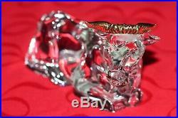 Gorham Nativity Crystal Shiny Gold OX original box-VERY RARE-perfect condition
