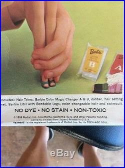 HTF RARE Vintage Barbie Color Magic Box