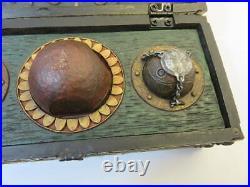 Harry Potter Quidditch Original Accessory Box Jewelry Case Rare USJ