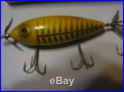 Heddon 300XRYG Minnow Yellow Shore/Rare Box
