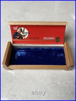 Helbros Vintage Chronograph And Original Box, Rare Combo Set From World War II 2