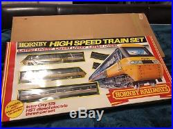 Hornby R556 Intercity 125 Train Set Original Mint Condition Rare oo Gauge Boxed