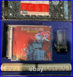 IRON MAIDEN RARE EDDIE'S ARCHIVE BLUE Box Set EXC COND ORIGINAL COMPLETE