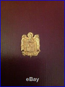 Isabel the Catholic Grand Cross Order in original box. RARE