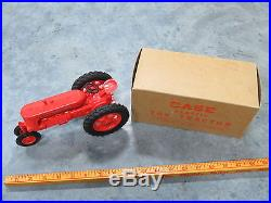 JI CASE model SC Tractor by Monarch Plastic Toy With original BOX RARE