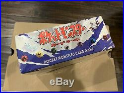 Japanese Pokemon 1996 Base Set Booster Box Sealed Original Basic Set RARE