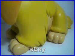 K1800993 Lady And The Tramp Big Fig W Box Disney 21 Tall Complete Original Rare