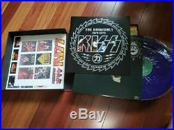 Kiss Japanese Originals 1974-79 Colored Vinyl Lp Box Set Black Set Rare