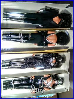 Kiss doll's 1977/1978 skinny version. Except (Peter) all 4 box (Vintage & Rare)