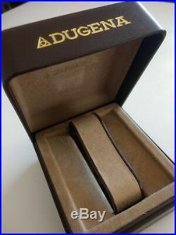 LED LCD 1970s DUGENA Men's VINTAGE quartz. Digital. Original. RARE + BOX