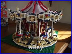 LEGO 10196 ORIGINAL GRAND CAROUSEL Superb Condition Very Rare Fully Boxed