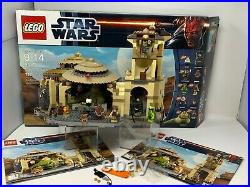 LEGO Rare Full Set 9516 Jabba's Palace Star Wars 717 pcs original box manual