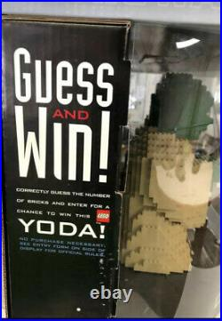 LEGO Star Wars Rare Target Pepsi Promotional Contest Yoda 1999 Original Display