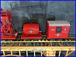 LGB 70940 Fire Brigade Train With Steam Locomotive Sound Original Box Rare