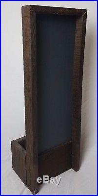 La Trappistine Mirrored Plant Box Alphonse Mucha Art Nouveau Vintage RARE