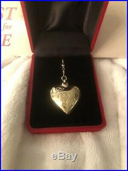 Lana Del Rey Rosary Locket Spoon Necklace Original Box Rare Tour Merch Sold Out
